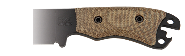Ka-Bar BK11HNDL Canvas Micarta Handles for BK11