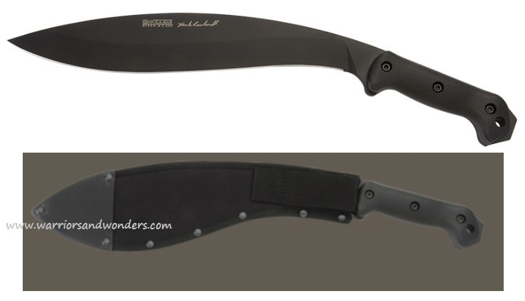 Ka-Bar BK21 Becker/Reinhardt Kukri w/Sheath