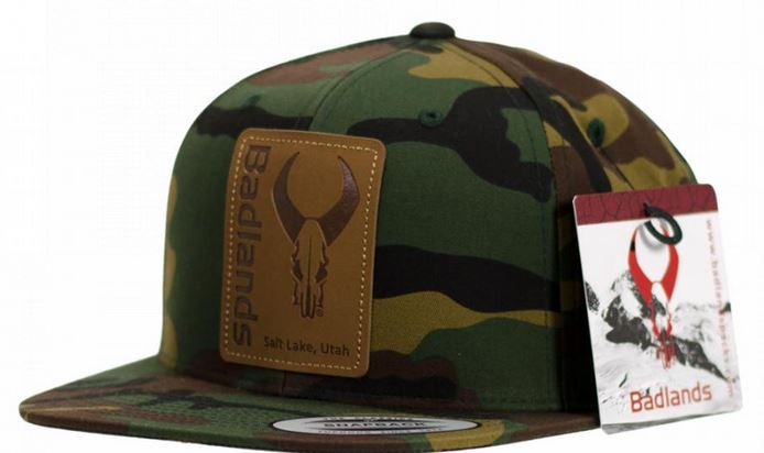 Badlands Flatty Hat - Army Camo