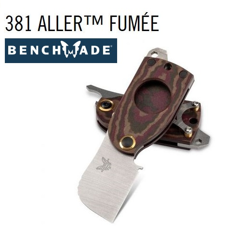 Benchmade 381 Aller Fumee Friction Folding Knife/Cigar Cutter (Online Only)