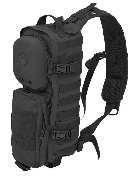 Hazard 4 Plan B-17 Modular Sling Pack With Rigid Pocket - Black