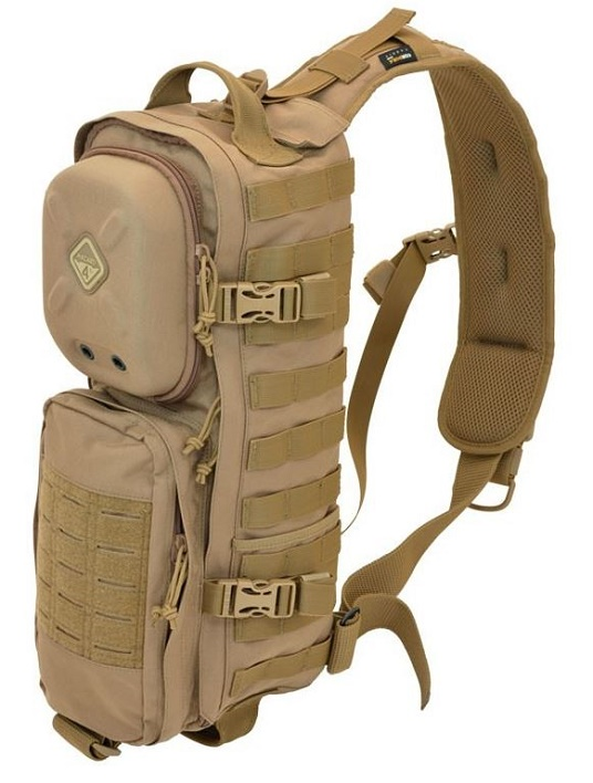 Hazard 4 Plan B-17 Modular Sling Pack With Rigid Pocket - Coyote
