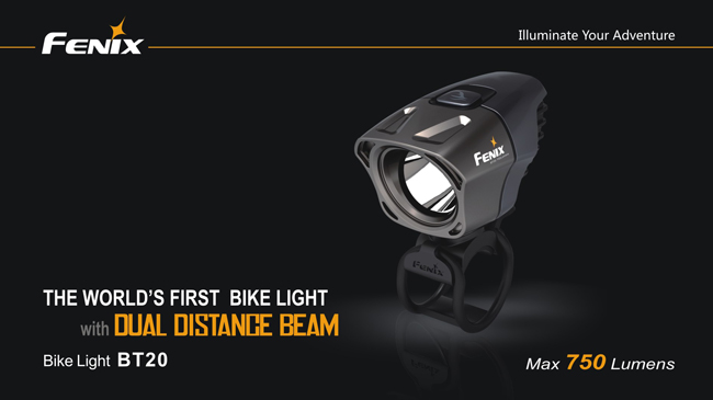 Fenix BT20 Bike Light (750 Lumens)