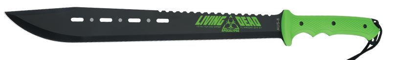 United BV123 Living Dead Machete w/Nylon Sheath