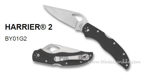 Byrd Knives Harrier 2 Folding Knife, G10, BY01GP2