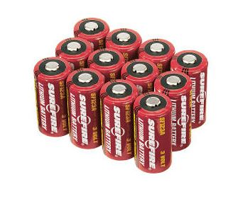 SureFire 12 123A Lithium Batteries (Online Only)
