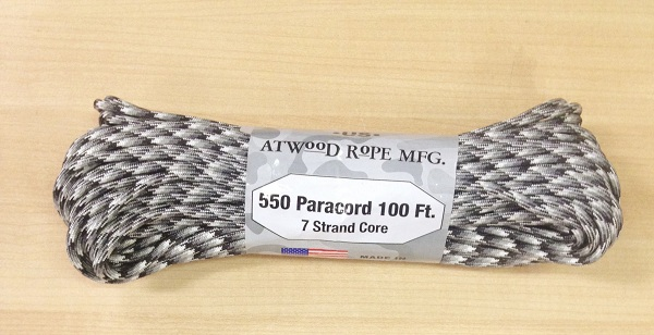 550 Paracord, 100Ft. - Urban Camo