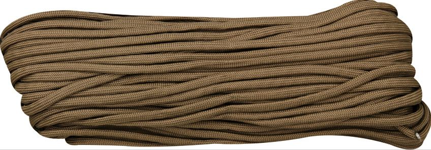 550 Paracord, 100Ft. - Brown