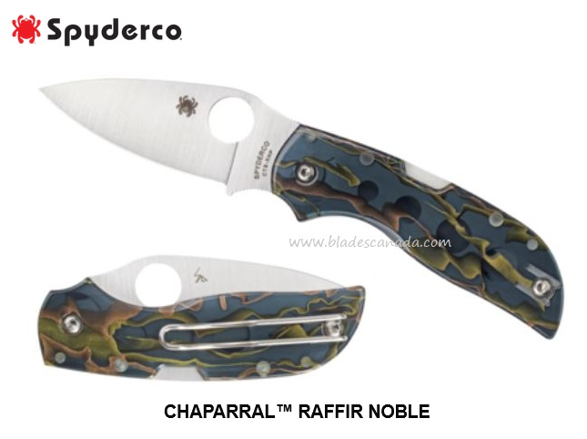 Spyderco Chaparral Raffir Noble CTS XHP Steel C152RNP (Online Only)