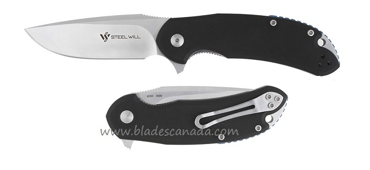 Steel Will C22-2BK Cutjack M390 - Black G10