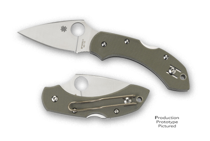 Spyderco Dragonfly G-10 Folding Knife C28GPFG