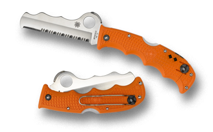 Spyderco Assist Orange FRN W/ Glass Breaker C79PSOR (Online Only)