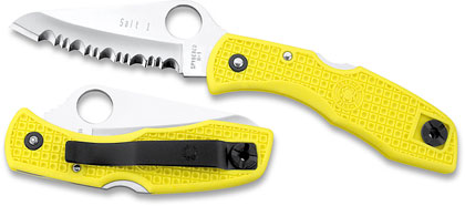 Spyderco C88SYL Salt I Yellow SpyderEdge