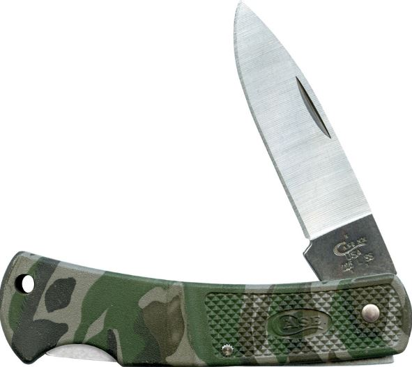 Case Knives Caliber Lockback Camo, Stainless Steel, CA00643