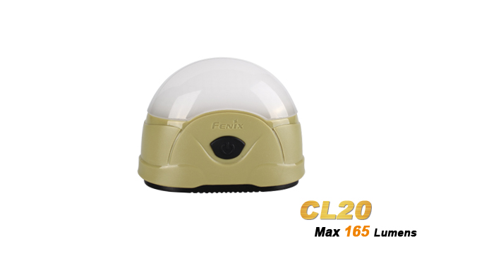 Fenix CL20 Camp Light 165 Lumens - Olive