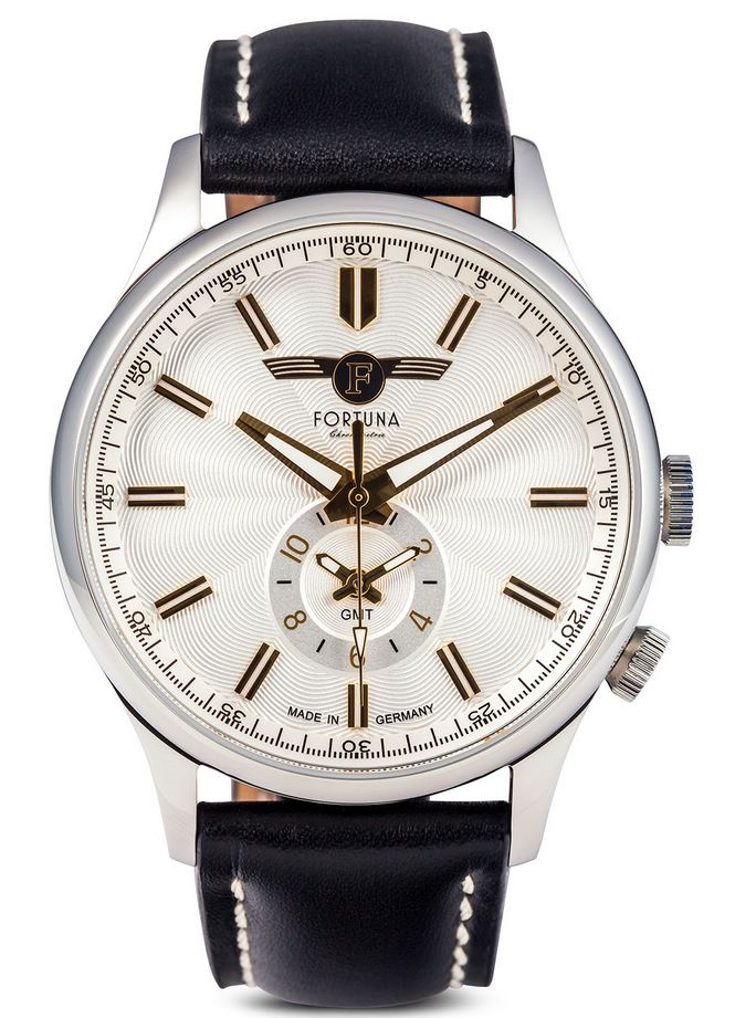 Fortuna Chronomaster GMT 43mm Cream Dial - CM72450