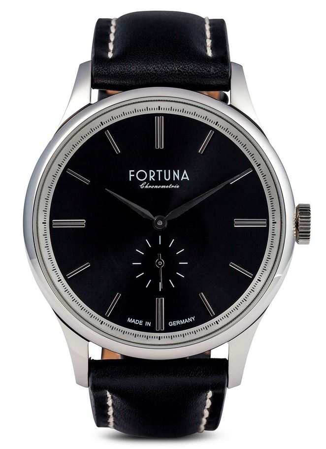 Fortuna Chronomaster 43mm Small Seconds Black Dial - CM72460