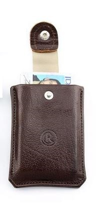 Chris Reeve 'The Reeve' Leather Card Wallet