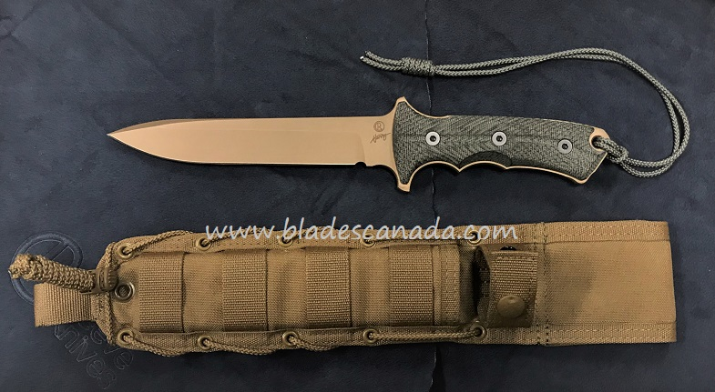 "Chris Reeve Green Beret 7"" Plain Edge - Flat Dark Earth"