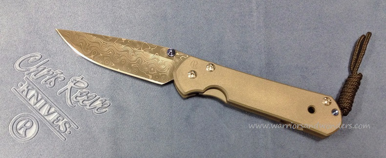 Chris Reeve Large Sebenza 21 Raindrop Damascus
