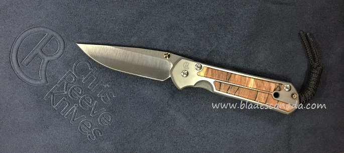 Chris Reeve Small Sebenza 21 - Spalted Beech Wood