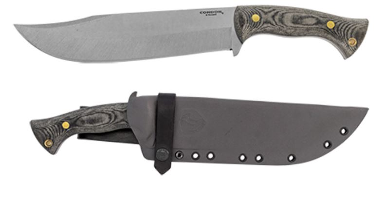 Condor Plan A Knife, 1075 Carbon, Micarta Handle, Kydex Sheath, CTK2823-8.98HC