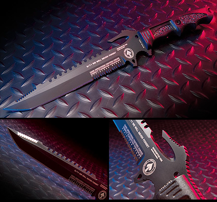 Dark Ops DOH113 Interceptor E&E 9/11 Tribute Tanto