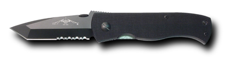 Emerson CQC7-BBTS Black Partially Serrated Non-Wave (Online)