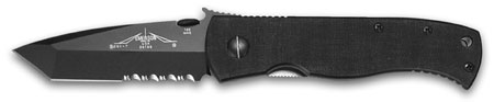 Emerson Super CQC7-BTS Black Blade w/Serrated (Online Only)