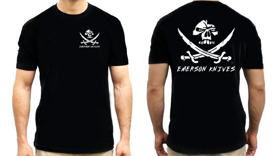 Emerson T-Shirt Pirate Skull