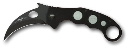 Emerson Super Karambit Black Plain Edge Folding Knife