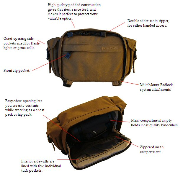 Eberlestock MultiPack Pouch - Coyote Brown