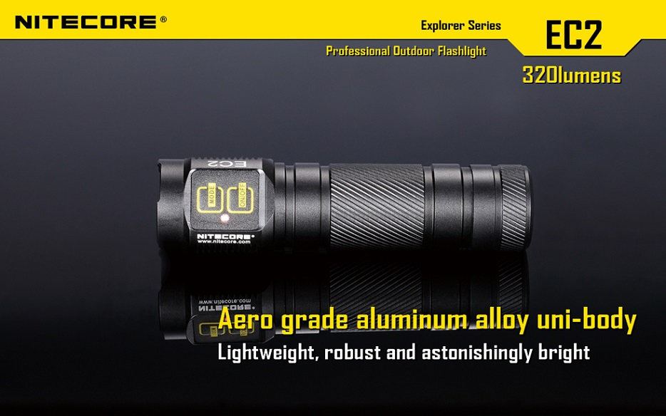 Nitecore EC2 Flashlight 320 Lumens