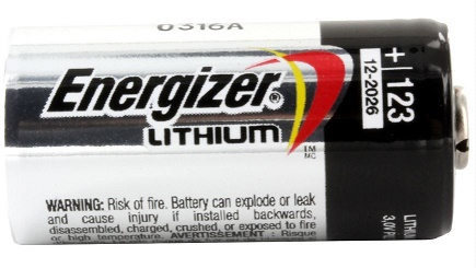 Energizer CR123A Batteries - 12 Pack