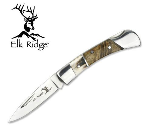 Elk Ridge ER127MSW Gentleman's Pocket Knife (Online Only)