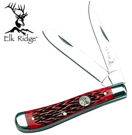 Elk Ridge ER220RB Traditional Large - Bone Handle (Online Only)