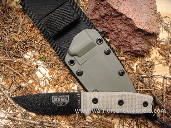 ESEE3MIL-P Black Blade Plain Edge