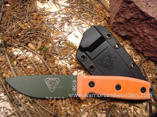 ESEE 3SM-OD OD Green Blade with Serration
