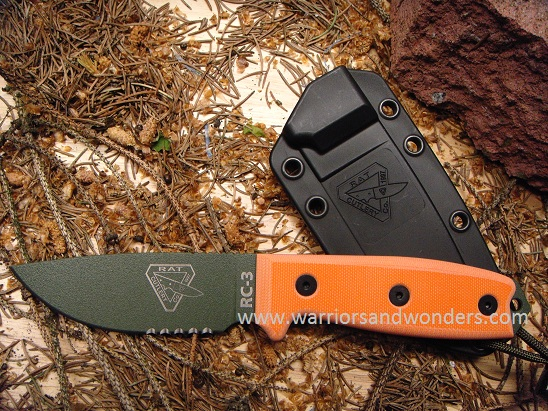 ESEE 3S-OD OD Green Blade with Serration