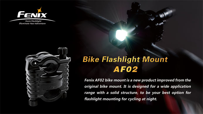 Fenix Bike Mount for Flashlights