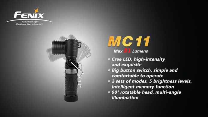 Fenix MC11 AngleLight 81 Lumens