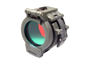"SureFire Red Filter for 1.62"" Diameter Bezels"