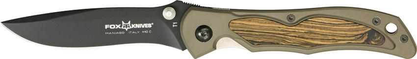 Fox Italy T1BC Terzuola Folding Knife