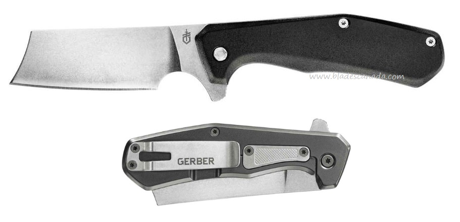 Gerber Asada Framelock Flipper Folding Knife - Black