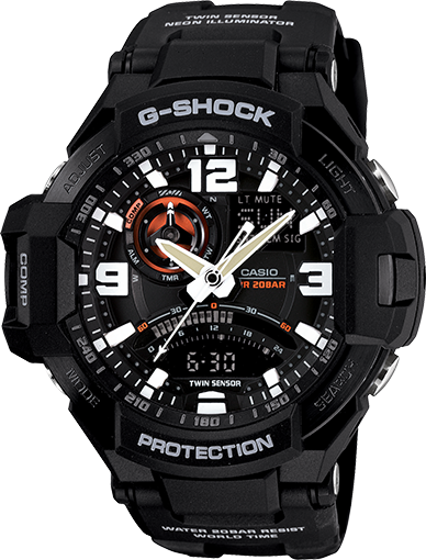 G Shock GA1000-1A G Aviation Series
