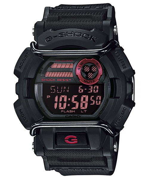 G Shock GD400-1 Impact Protection Series - Black
