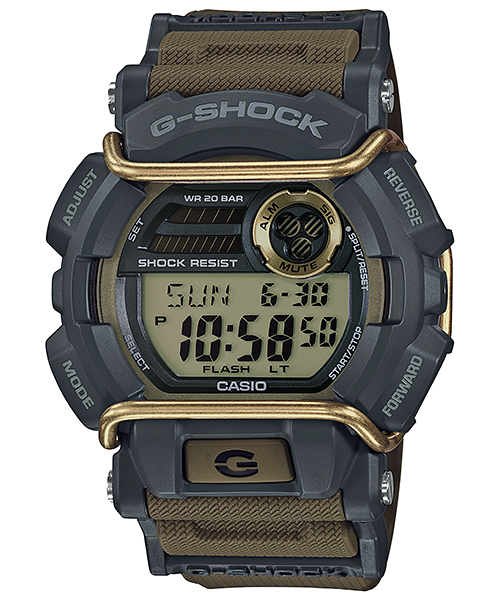 G Shock GD400-9 Impact Protection Series - Black/Green