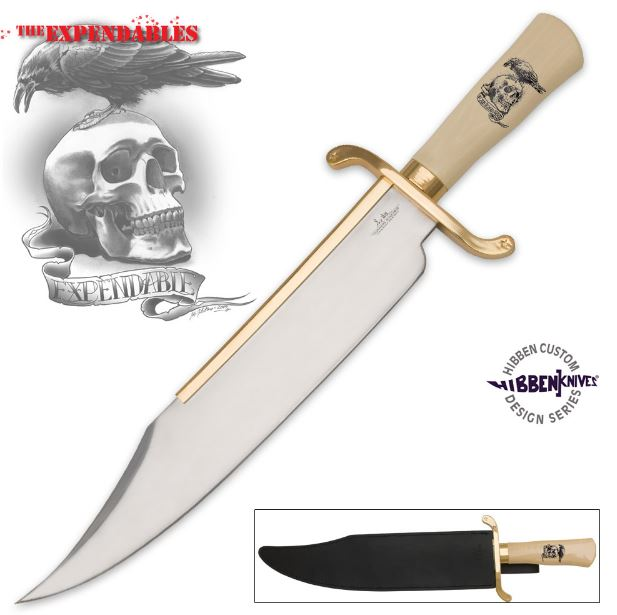 United Gil Hibben Expendables Bowie w/ Sheath GH5017 (Online)