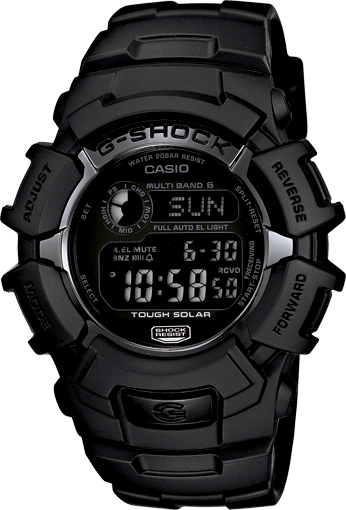 G Shock GW2310FB-1 Stealth Black - Solar Power