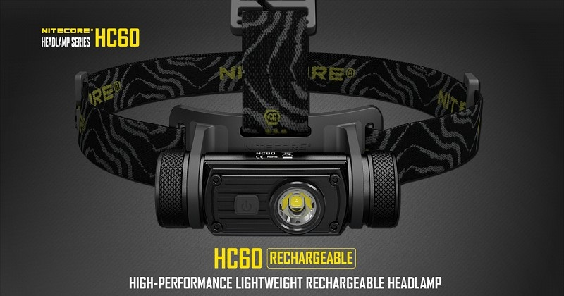 Nitecore HC60 Rechargeable Headlamp - 1000 Lumens
